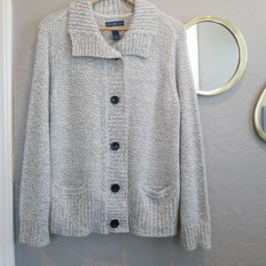 Karen Scott Knit Sweater (L)